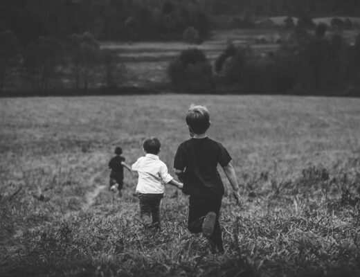 Crianças Infância Saudades